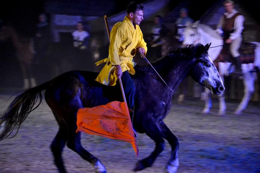 Tatai lovasünnep Mátyás királlyal